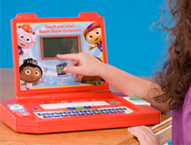 Super Why Super Duper Learning Computer, Learning Curve