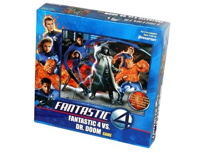 Fantastic 4 VS Dr. Doom, Pressman Toy