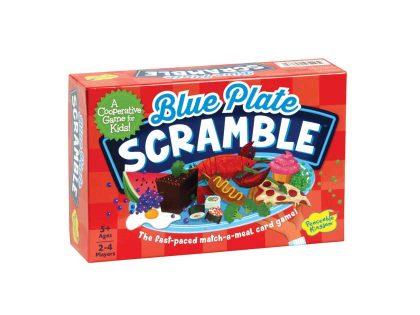 Blue Plate Scramble