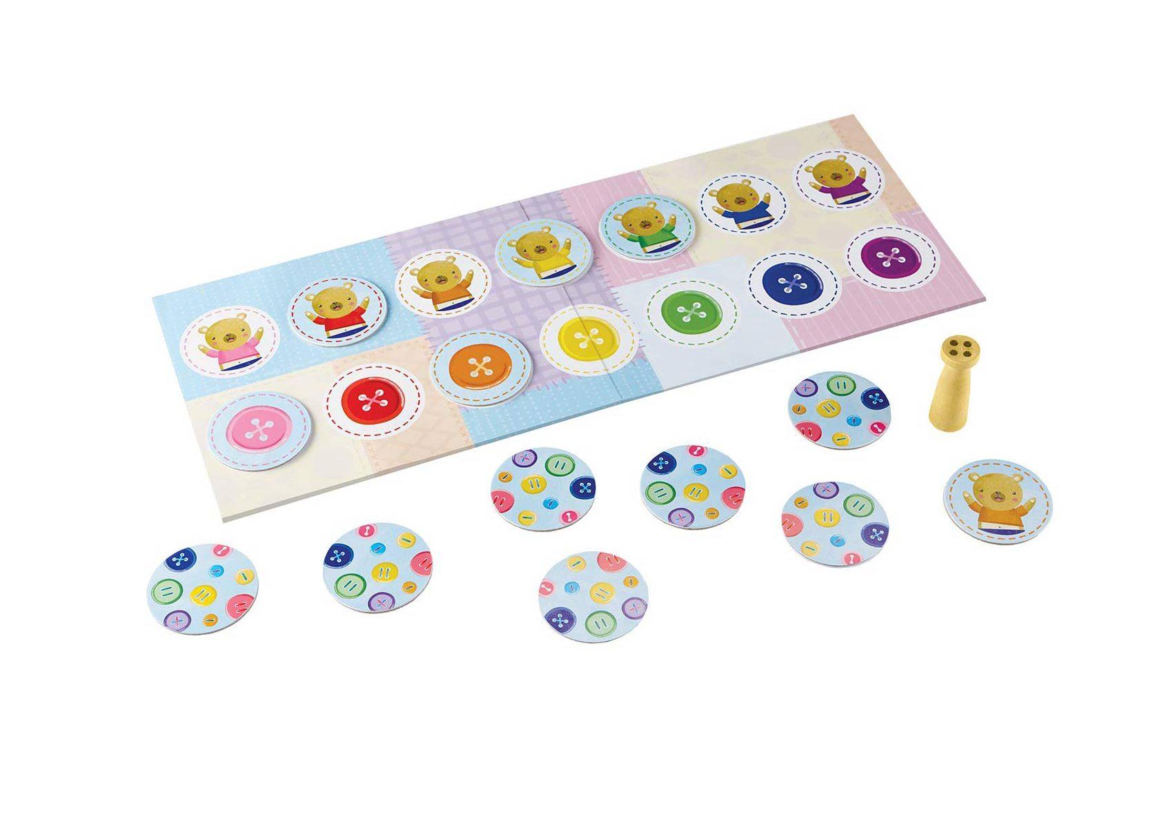 Button Button Belly Button Board