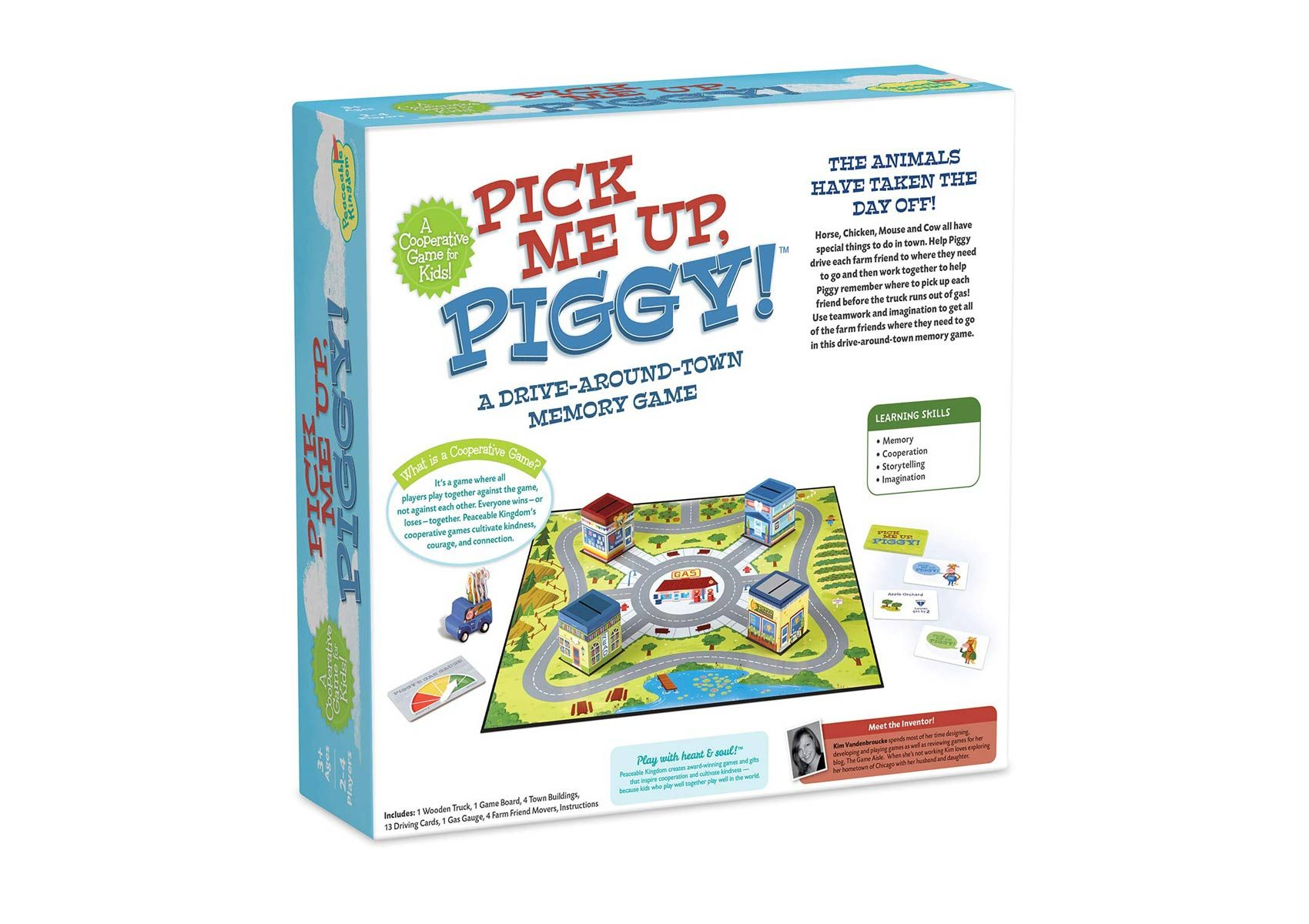 Pick Me Up Piggy! Bacjk of box